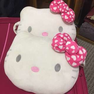 Hello kitty car head pillow