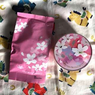 Isa Knox Cherry Blossom 2 Micro Foam Cushion Silk Cover #23 (Limited Edition)