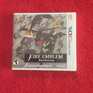 3ds XL Fire Emblem Awakening Game