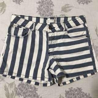 Zara Strips Shorts