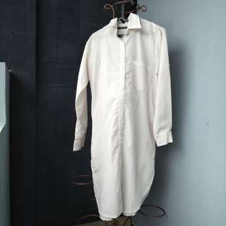 White long tunik