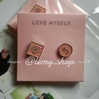 [READY STOCK] BTS Love Myself - Badge Set OFFICIAL
