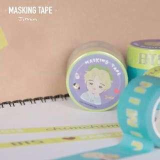 BTS Masking Tape Jimin Fan-Made