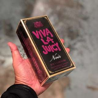 Authentic Viva La Juicy Noir Juicy Couture EDP Perfume 100ml Limited Stock First Come First Served 😎👍