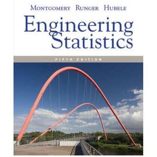 Engineering Statistics, 5th Edition (ebook)
