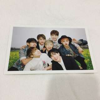 BTS HYYH Group Official Photocard