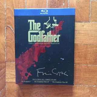 The Godfather Blu Ray Trilogy
