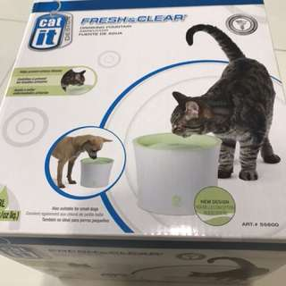 Catit Fresh & Clear Fountain 3L + 3pcs carbon filters.