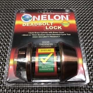 Nelon Deadbolt Door Lock D101