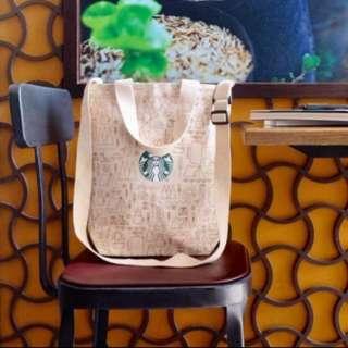 Starbucks 2 way sling bag