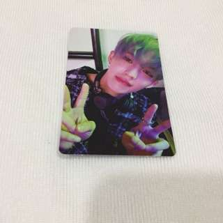Seventeen Teen Age Scoups Official Photocard