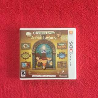 3ds XL Professor Layton Game
