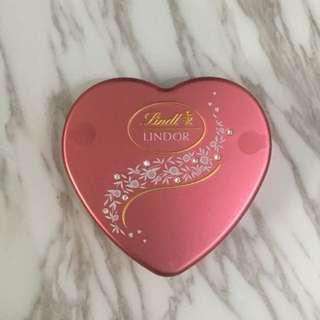 Lindor 瑞士蓮 朱古力 粉紅色心形禮盒