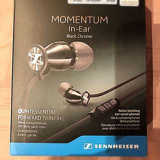 Sennheiser Momentum In Ear Headphone for Iphone