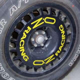 Original OZ Racing 4x4 rims