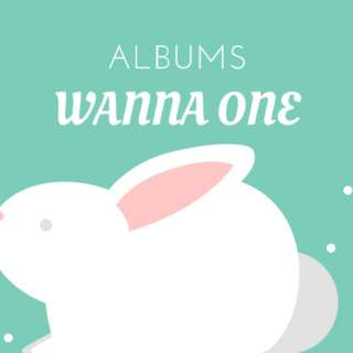 WANNA ONE ALBUMS