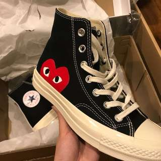 CDG X Converse (Black High)