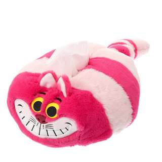 Japan Disneystore Disney Store Cheshire Cat ALICE PARTY Tissue Box Cover