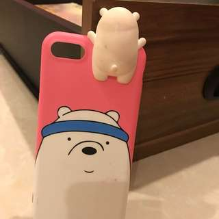 Casing (Soft Case) iPhone 7 PINK