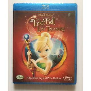 🆕 Tinker Bell and the Lost Treasure Blu Ray