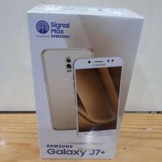 Samsung J7+ Kredit CashBack 200Ribu
