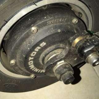 Powerd motor