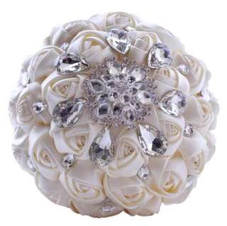 Studded Wedding Bouquet
