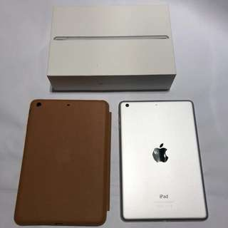 iPad Mini 3 WiFi 64GB Full Set + Apple Smart Case