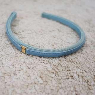 Salvatore Ferragamo Light Blue Hairband