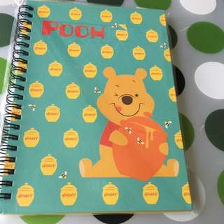 Assorted Winnie The Pooh Notebook - Hardcover