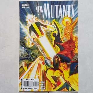 Marvel Comics New Mutants 1 Alex Ross Cover Upcoming Movie