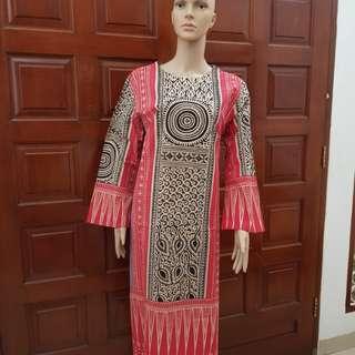 Dress Tunik Motif Sarita