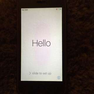 iPhone 5 - 64gb - very good condition