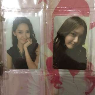 Girls Generation Yoona Photocard