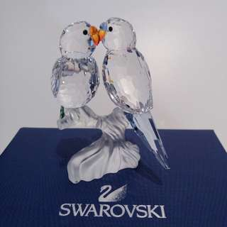 Authentic SWAROVSKI Bugies Love Birds