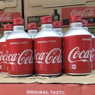 🍬Japan Aluminium 300ml Can Coke Collectibles (sealed)