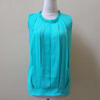 Turquoise top New
