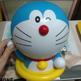 哆啦A夢 公仔 手提 置物桶  玩具