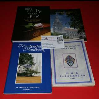 Assorted Anglican Christian Books.