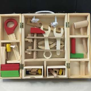 Wooden Carpenter Set