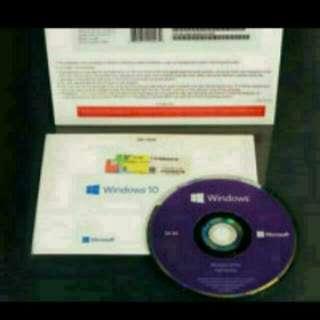 Windows 10 Professional 64bit With Installer CD