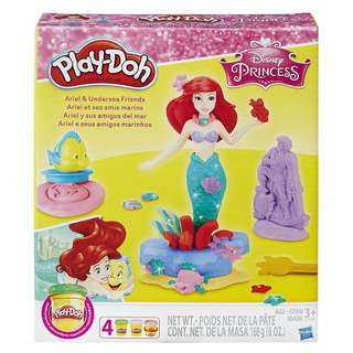 Play-Doh Ariel and undersea Friends featuring Disney princess toy