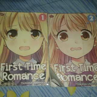 First Time Romance by Tsukasa Unohana 1-2