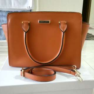 Charles & Keith bag Orange color