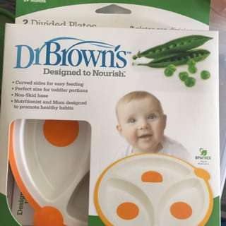 New Dr Brown's divided plate