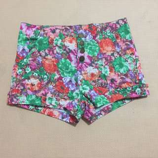 Highwaisted Pants Floral