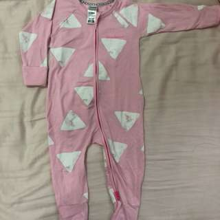Authentic BONDS sleepsuit 6-12mths