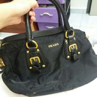 Prada black bag nylon
