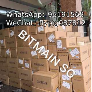 READY STOCK! Bitmain AntMiner S9 13.5/ 14 TH/s Bitcoin Mining Machine!