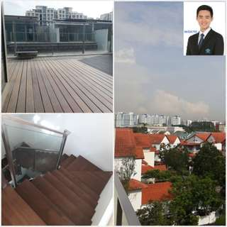 The Woods, 4003sqf Landed house whole unit for rent, 6 rooms all with attched toilets, 5 floors